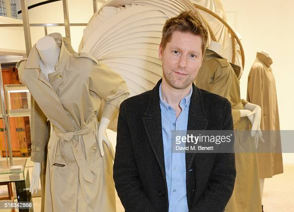 Christopher Bailey attends an exclusive VIP preview of the Dover Street Market on March 18 2016 in London England
