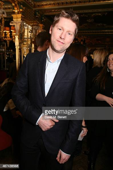 Christopher Bailey attends the BFC/Vogue Designer Fashion Fund winner's announcement at Cafe Royal on March 24 2015 in London England