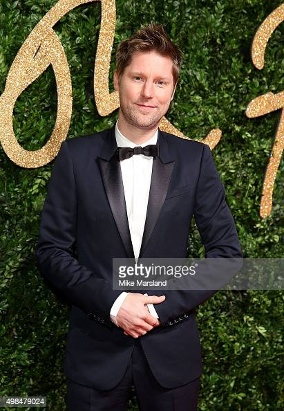 Christopher Bailey attends the British Fashion Awards 2015 at London Coliseum on November 23 2015 in London England