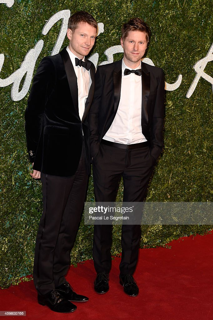 Christopher Bailey attends the British Fashion Awards at London Coliseum on December 1 2014 in London England