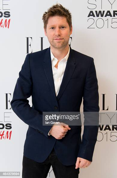 Christopher Bailey attends the Elle Style Awards 2015 at Sky Garden @ The Walkie Talkie Tower on February 24 2015 in London England