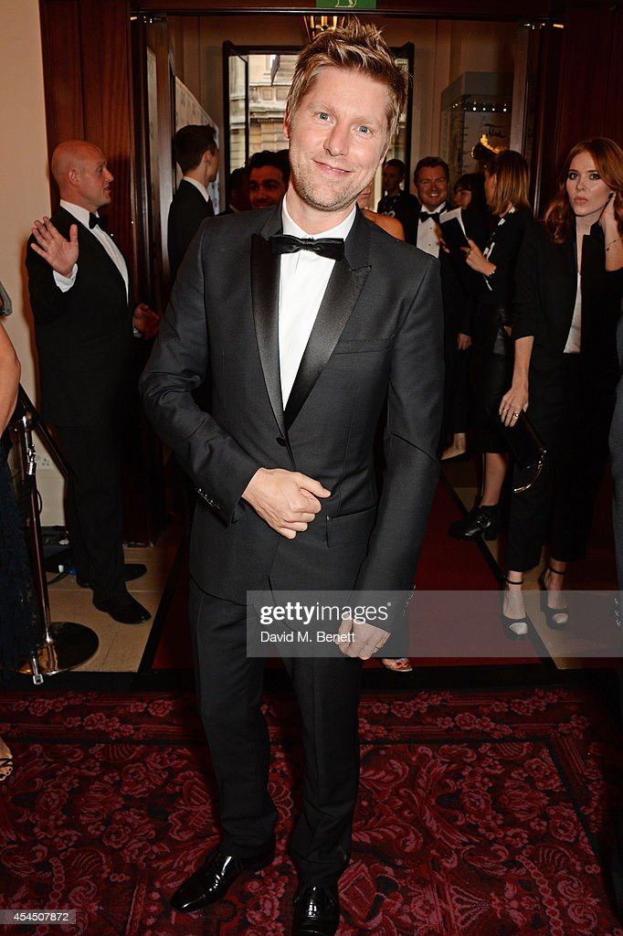 Christopher Bailey attends the GQ Men Of The Year awards in association with Hugo Boss at The Royal Opera House on September 2 2014 in London England