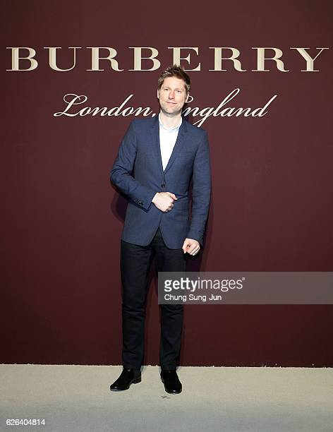 Christopher Bailey attends the 'The Tale of Thomas Burberry' at the Burberry Seoul Flagship store on November 29 2016 in Seoul South Korea