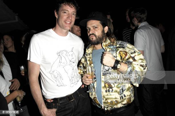 Christopher Barley Javier Peres attend the INTERVIEW Magazine LVMH Host's Art Basel 2009 Cocktails and Dinner at Mondrian Hotel on December 03 2009...