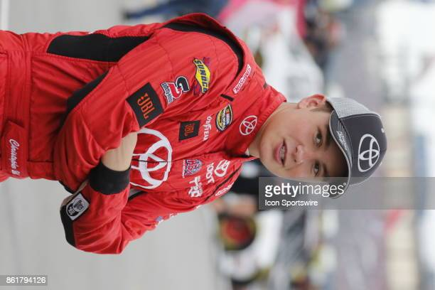 Christopher Bell Toyota Toyota Tundra during qualifying for the Freds 250 Camping World Truck Series race on October 14 2017 at Talladega Motor...