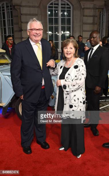 Christopher Biggins and Pauline Collins attend the World Premiere of 'The Time Of Their Lives' at The Curzon Mayfair on March 8 2017 in London England