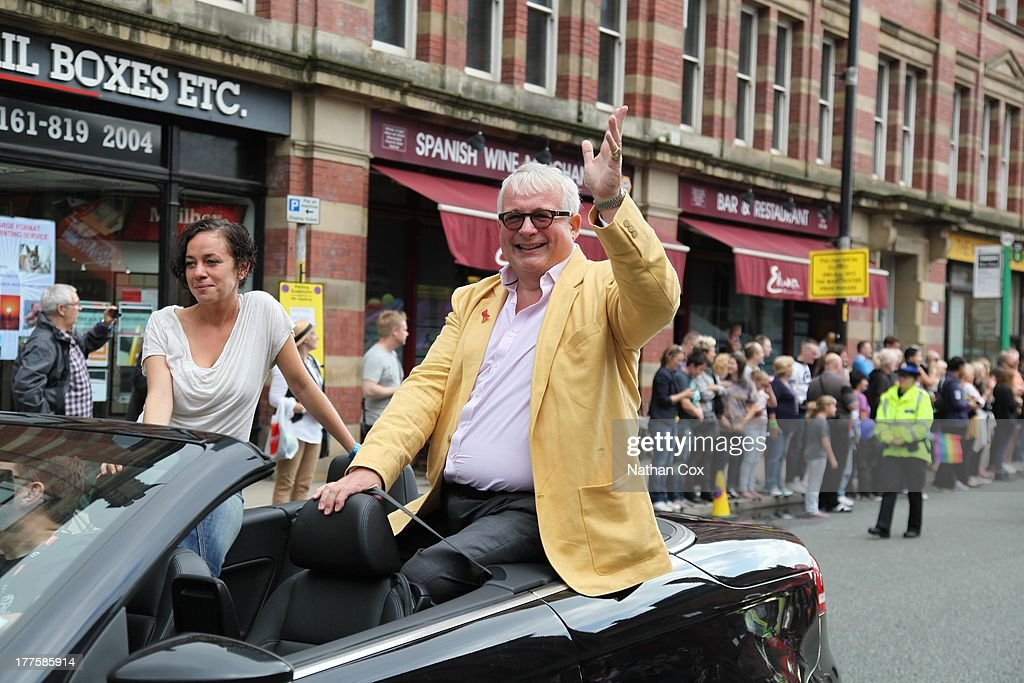 Christopher Biggins attends Manchester Pride on August 24, 2013 in Manchester, England.