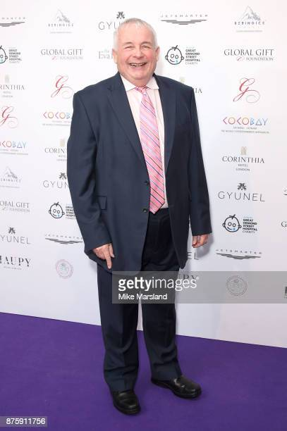 Christopher Biggins attends The Global Gift Gala London held at Corinthia Hotel London on November 18 2017 in London England