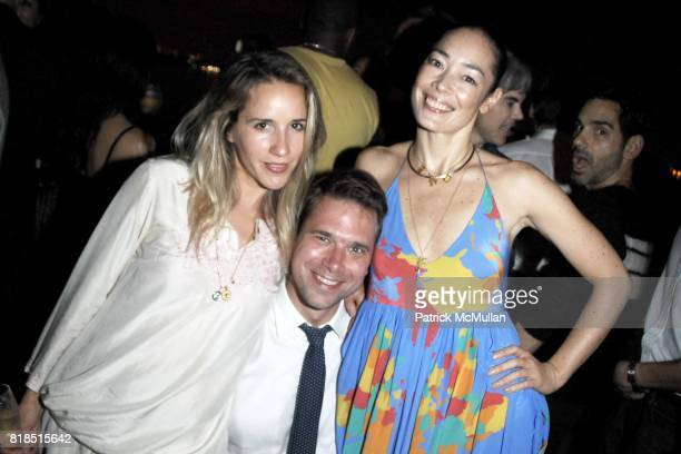 Christopher Bollen Cecilia Dean attend the INTERVIEW Magazine LVMH Host's Art Basel 2009 Cocktails and Dinner at Mondrian Hotel on December 03 2009...