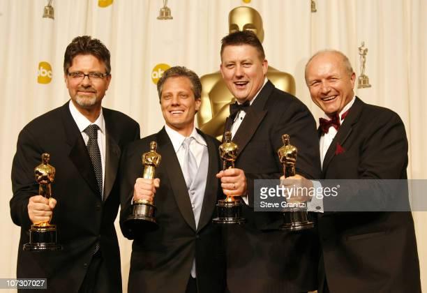 Christopher Boyes Michael Semanick Michael Hedges and Hammond Peek winners Best Sound Mixing for 'King Kong'