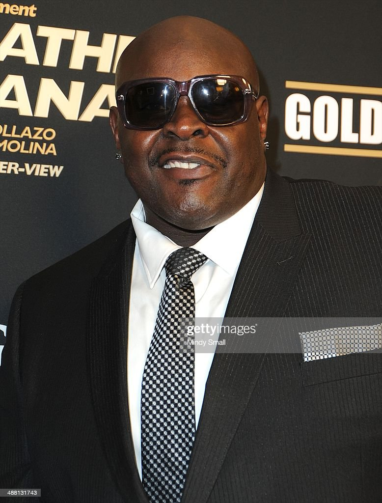 Christopher Boykin 'Big Black' attends the Mayweather Vs. Maidana Pre-Fight Party Presented By Showtime at MGM Garden Arena on May 3, 2014 in Las Vegas, Nevada.
