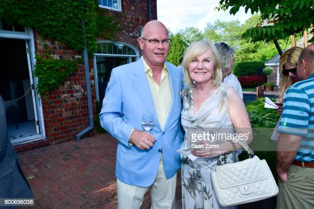 Christopher Chop and Mary Jane McGlocklin attend Maison Gerard Presents Marino di Teana A Lifetime of Passion and Expression at Michael Bruno and...