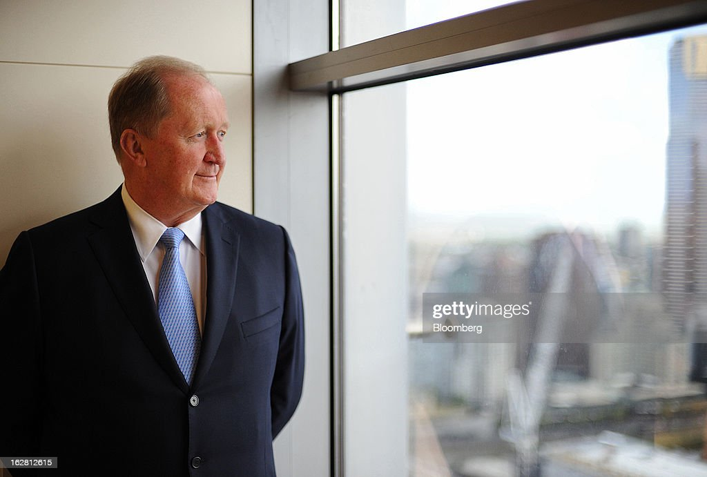 Christopher 'Chris' Lynch, incoming chief financial officer of Rio Tinto Group, poses for a photograph at the company's offices in Melbourne, Australia, on Thursday, Feb. 28, 2013. Rio Tinto, the world's second-biggest mining company, named non-executive board director Lynch as chief financial officer to replace Guy Elliott who announced his retirement in July. Photographer: Carla Gottgens/Bloomberg via Getty Images