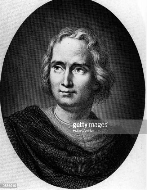 Christopher Columbus the navigator and explorer who made four voyages to the 'New World' circa 1490 He died in poverty in Valladolid and is buried in...