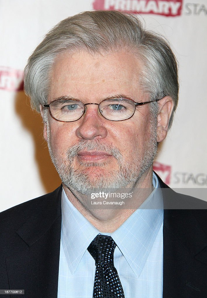 Christopher Durang attends the 2013 Primary Stages Annual Gala at The Edison Ballroom on November 11, 2013 in New York City.