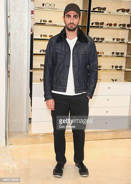 Christopher Esber poses during the 10 10 Men Australia Autumn Winter 2015 issue launch on August 17 2015 in Sydney Australia
