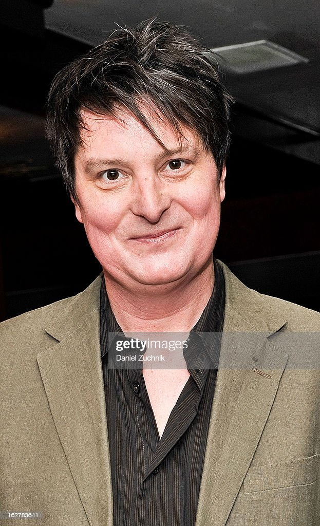 Christopher Evan Welch attends 'The Madrid' opening night party at Red Eye Grill on February 26, 2013 in New York City.