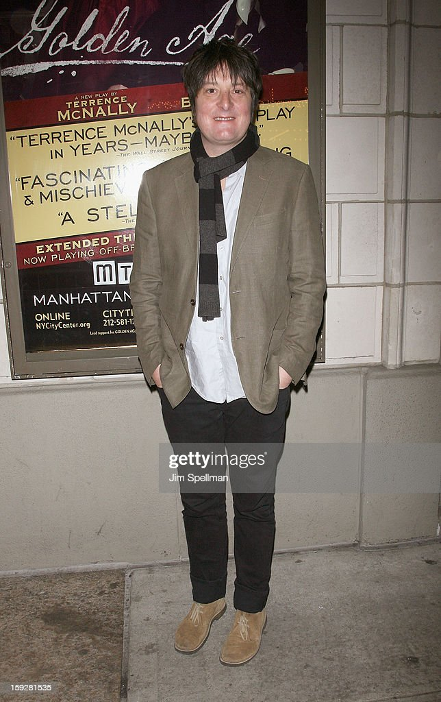 Christopher Evan Welch attends 'The Other Place' Broadway opening night at the Samuel J. Friedman Theatre on January 10, 2013 in New York City.