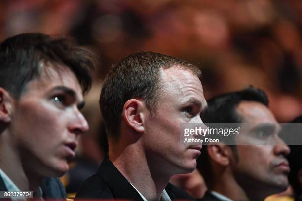 Christopher Froome during the presentation of the Tour de France 2018 at Palais des Congres on October 17 2017 in Paris France