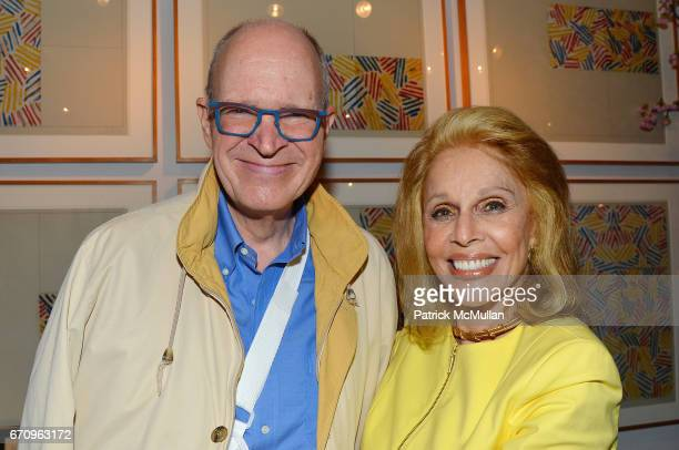 Christopher Gates and Susan Silver attend Susan Silver's Memoir Signing Celebration at Michael's on April 20 2017 in New York City