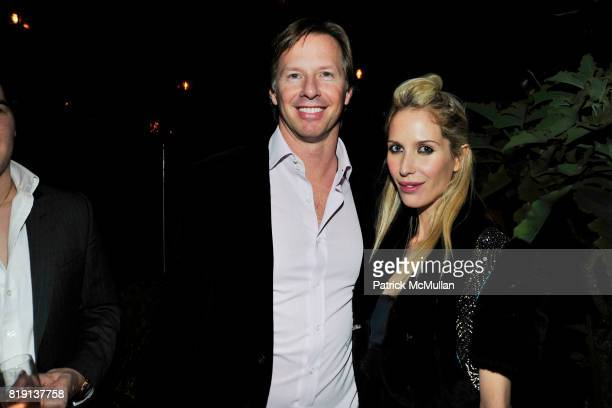 Christopher Getty Bianca Pratt attend NICOLAS BERGGRUEN's 2010 Annual Party at the Chateau Marmont on March 3 2010 in West Hollywood California