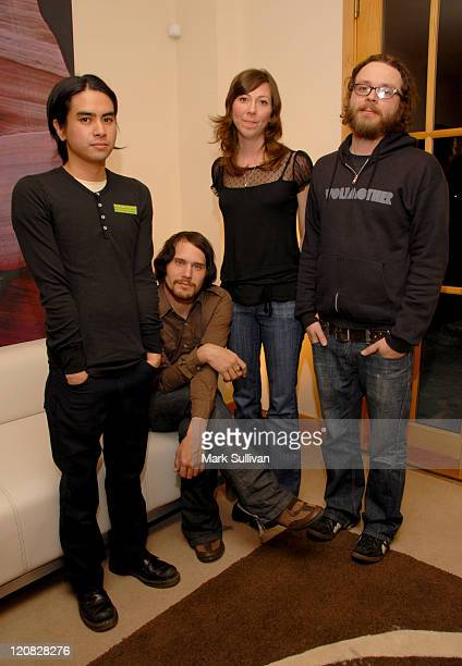 Christopher Guanlgo Brian Aubert Nikki Monninger and Joe Lester of Silversun Pickups