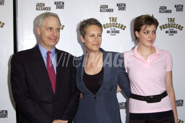 Christopher Guest Jamie Lee Curtis With Daughter Annie