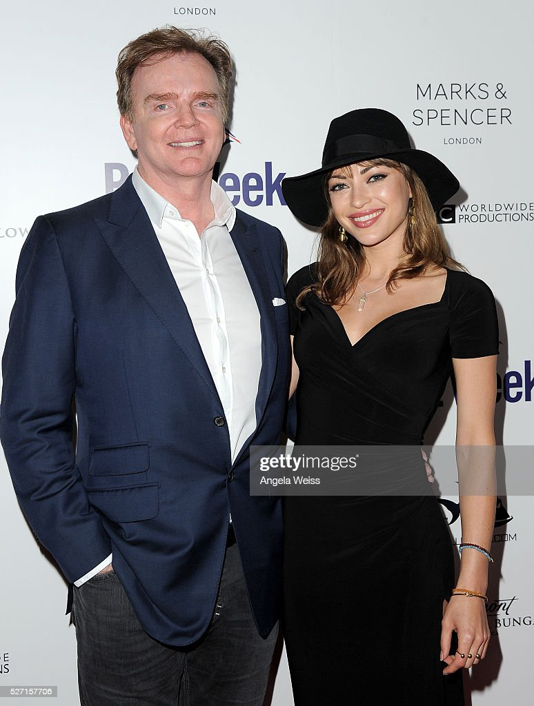 Christopher Guy and actress Angela Vitale attend BritWeek's 10th Anniversary VIP Reception & Gala at Fairmont Hotel on May 1, 2016 in Los Angeles, California.