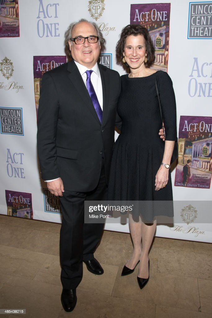 Christopher Hart and Catherine Hart attend the opening night party for 'Act One' at The Plaza Hotel on April 17, 2014 in New York City.