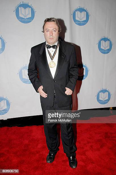 Christopher Hitchens attends 2007 NATIONAL BOOK AWARDS Ceremony and Dinner at Marriott Marquis on November 14 2007 in New York City