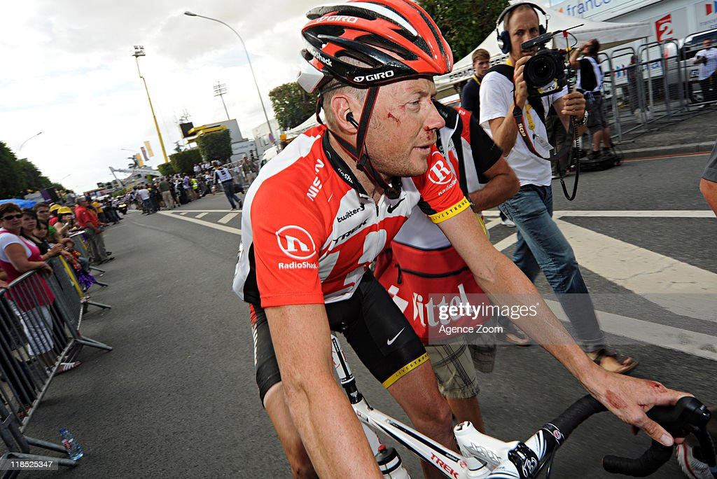 Christopher Horner of Team Radioshack during Stage 7 of the Tour de France on July 8, 2011, Le Mans to Chateauroux, France.