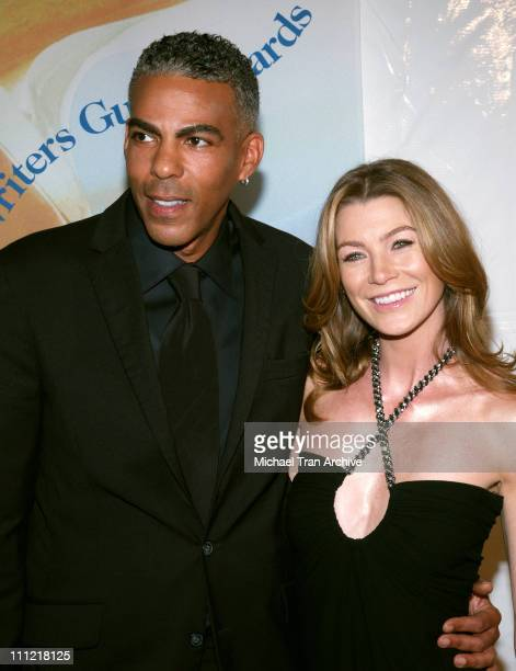 Christopher Ivery and Ellen Pompeo during 2006 Writers Guild Awards Arrivals at The Hollywood Palladium in Hollywood California United States