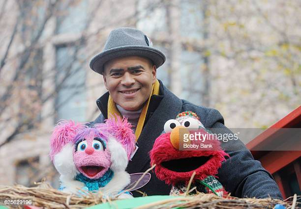 Christopher Jackson attends the 90th Annual Macy's Thanksgiving Day Parade on November 24 2016 in New York City