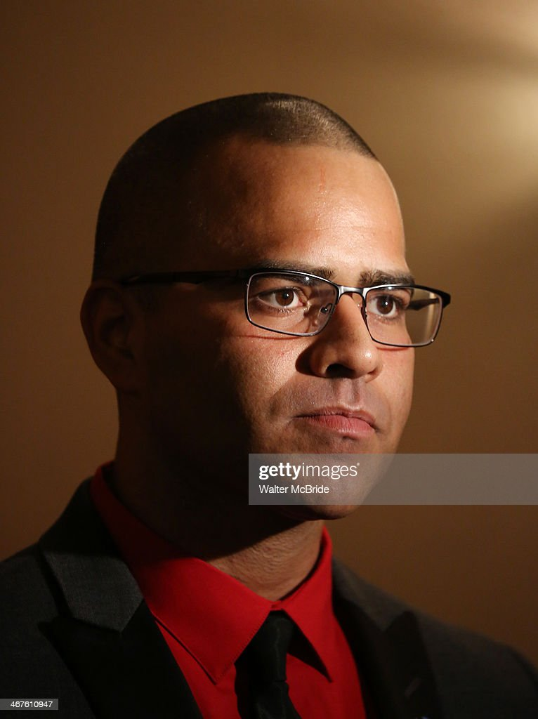 Christopher Jackson attends the opening night after party for 'Bronx Bombers' on Broadway at The Edison Ballroom on February 6, 2014 in New York City.