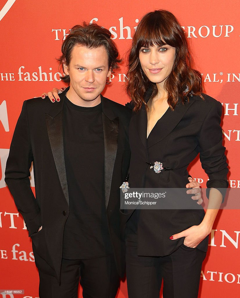 Christopher Kane and <a gi-track='captionPersonalityLinkClicked' href=/galleries/search?phrase=Alexa+Chung&family=editorial&specificpeople=3141821 ng-click='$event.stopPropagation()'>Alexa Chung</a> attend the 30th annual Fashion Group International Night of Stars on October 22, 2013 in New York City.