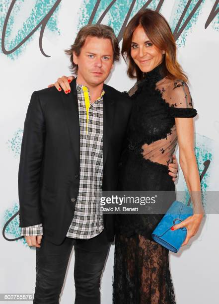 Christopher Kane and Alison Loehnis attend The Serpentine Galleries Summer Party at The Serpentine Gallery on June 28 2017 in London England