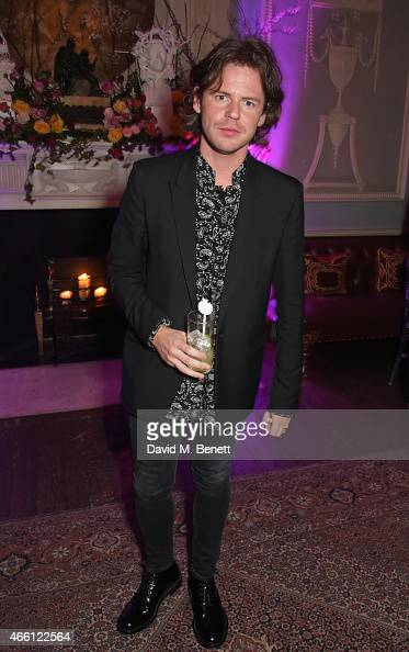 Christopher Kane attends a party hosted by Vogue Editor Alexandra Shulman in honor of Lucinda Chambers at Home House Private Members Club on March 13...
