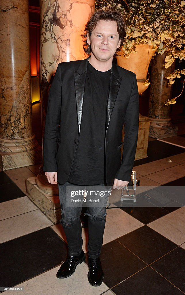 <a gi-track='captionPersonalityLinkClicked' href=/galleries/search?phrase=Christopher+Kane+-+Fashion+Designer&family=editorial&specificpeople=6927018 ng-click='$event.stopPropagation()'>Christopher Kane</a> attends a private dinner celebrating the Victoria and Albert Museum's new exhibition 'The Glamour Of Italian Fashion 1945 - 2014' at Victoria and Albert Museum on April 1, 2014 in London, England.