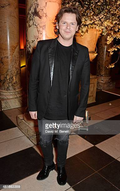 Christopher Kane attends a private dinner celebrating the Victoria and Albert Museum's new exhibition 'The Glamour Of Italian Fashion 1945 2014' at...