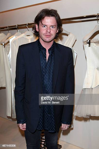 Christopher Kane attends the opening of Christopher Kane's London Flagship store on March 24 2015 in London England