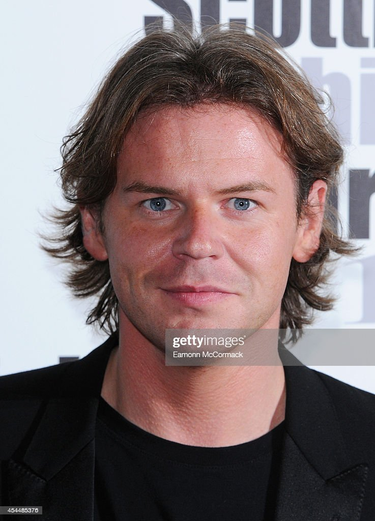 Christopher Kane attends The Scottish Fashion Awards on September 1 2014 in London England