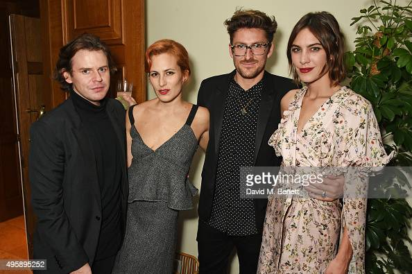 Christopher Kane Charlotte Dellal Henry Holland and Alexa Chung attend a private dinner hosted by Alexa Chung to celebrate the launch of her app...