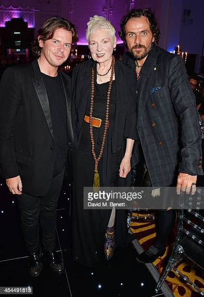 Christopher Kane Dame Vivienne Westwood and Andreas Kronthaler attend the Scottish fashion invasion of London at the 9th annual Scottish Fashion...