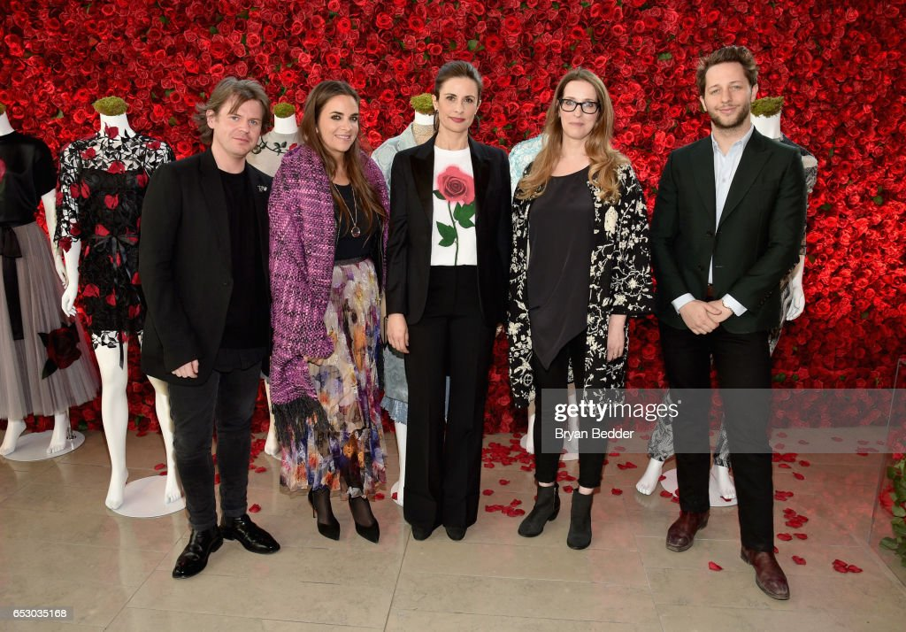 Christopher Kane, Laure Heriard Durbreuil, Livia Firth, Heather Laing-Obstbaum and Derek Blasberg were part of a panel discussion on storytelling through fashion inspired by Disney's live action movie Beauty and the Beast, including a new line by designer Christopher Kane, created in collaboration with sustainable brand consultancy, Eco-Age, and Disney. The collection goes on sale on March 16, 2017, at ChristopherKane.com and The Webster.