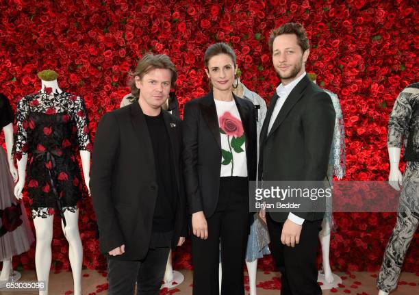 Christopher Kane Livia Firth and Derek Blasberg were part of a panel discussion on storytelling through fashion inspired by Disney's live action...