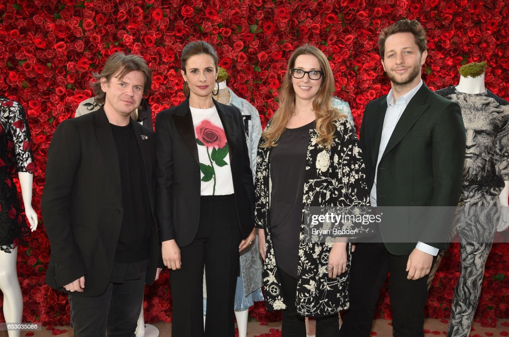 Christopher Kane, Livia Firth, Heather Laing-Obstbaum and Derek Blasberg were part of a panel discussion on storytelling through fashion inspired by Disney's live action movie Beauty and the Beast, including a new line by designer Christopher Kane, created in collaboration with sustainable brand consultancy, Eco-Age, and Disney. The collection goes on sale on March 16, 2017, at ChristopherKane.com and The Webster.