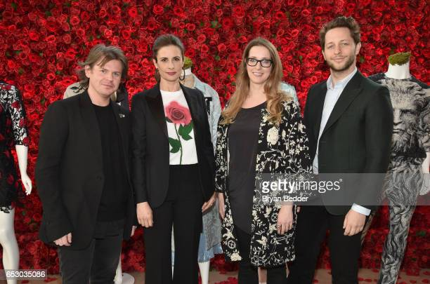 Christopher Kane Livia Firth Heather LaingObstbaum and Derek Blasberg were part of a panel discussion on storytelling through fashion inspired by...