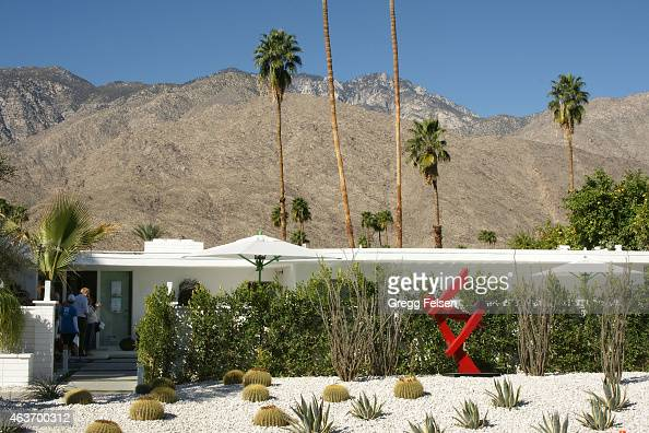 Christopher Kennedy house on display during Modernism Week in on February 14 2015 in Palm Springs California