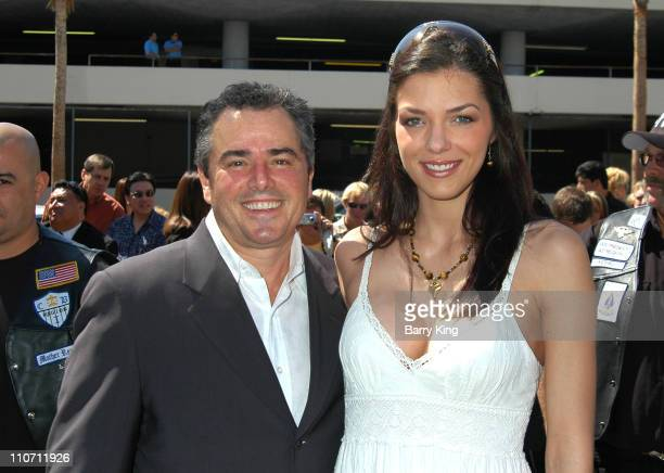Christopher Knight and Adrianne Curry during Erik Estrada Honored with Star on the Hollywood Walk of Fame at 7021 Hollywood Blvd in Hollywood...