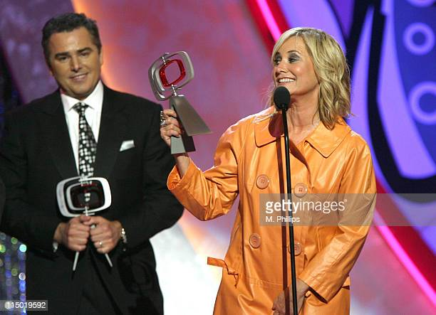 Christopher Knight and Maureen McCormick winners Pop Culture Award for 'The Brady Bunch